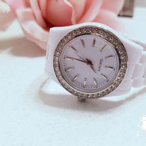 🖤DKNY Rhinestone Watch